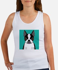 Boston Terrier (Dark Brindle) Women's Tank Top
