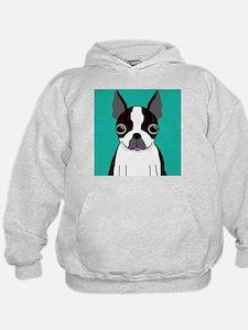Boston Terrier (Dark Brindle) Hoodie