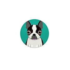 Boston Terrier (Dark Brindle) Mini Button