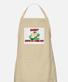 Rabbit trapped in a human body BBQ Apron