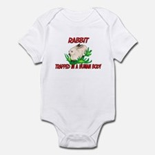 Rabbit trapped in a human body Infant Bodysuit