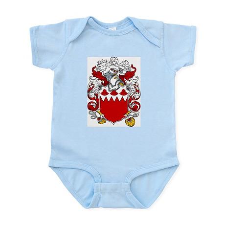 Barrett Family Crest Infant Creeper