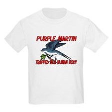 Purple Martin trapped in a human body T-Shirt