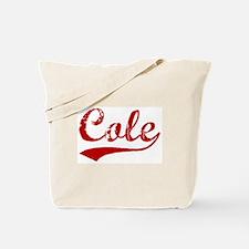 Cole (red vintage) Tote Bag