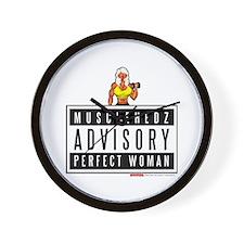 ADVISORY: Perfect Woman - Wall Clock