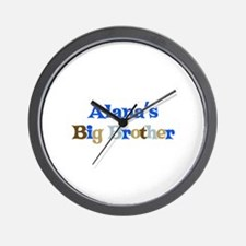 Alana's Big Brother Wall Clock