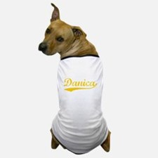 Vintage Danica (Orange) Dog T-Shirt