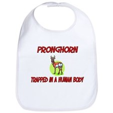 Pronghorn trapped in a human body Bib