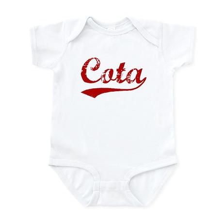 Cota (red vintage) Infant Bodysuit