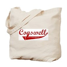Cogswell (red vintage) Tote Bag