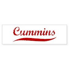 Cummins (red vintage) Bumper Bumper Sticker