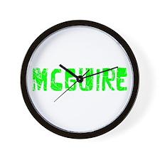 Mcguire Faded (Green) Wall Clock