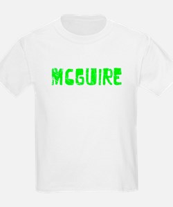 Mcguire Faded (Green) T-Shirt