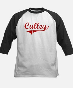 Culley (red vintage) Kids Baseball Jersey