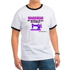 Warning Sewing Machine T