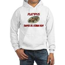 Platypus trapped in a human body Hoodie