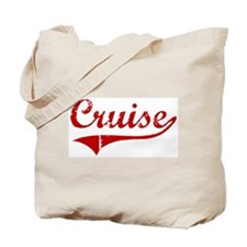 Cruise (red vintage) Tote Bag