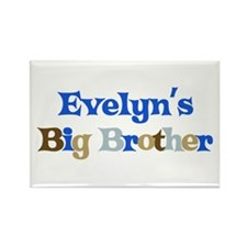 Evelyn's Big Brother Rectangle Magnet