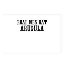 Real Men Eat Arugula Postcards (Package of 8)