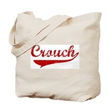 Crouch (red vintage) Tote Bag