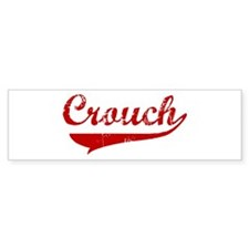 Crouch (red vintage) Bumper Bumper Sticker