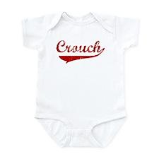 Crouch (red vintage) Infant Bodysuit