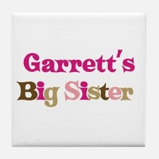 Garrett's Big Sister Tile Coaster