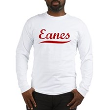 Eanes (red vintage) Long Sleeve T-Shirt