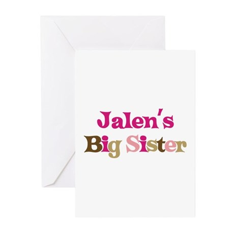 Jalen's Big Sister Greeting Cards (Pk of 10)