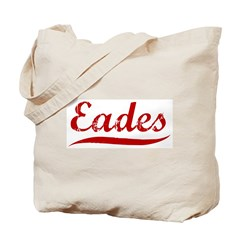 Eades (red vintage) Tote Bag