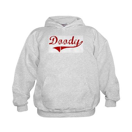 Doody (red vintage) Kids Hoodie