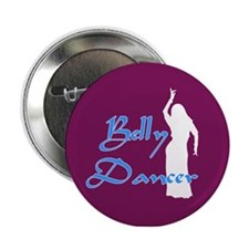 Maroon Belly Dancer Button