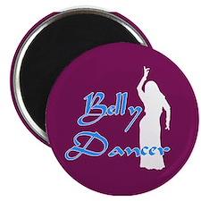 Maroon Belly Dancer Magnet