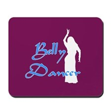 Maroon Belly Dancer Mousepad