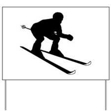 SKIER Yard Sign