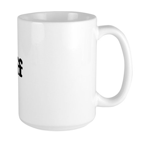 I Love Jeff Large Mug