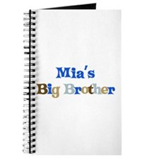 Mia's Big Brother Journal