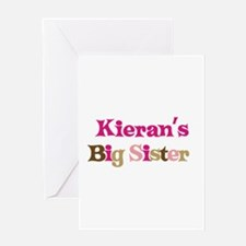 Kieran's Big Sister Greeting Card
