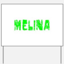 Melina Faded (Green) Yard Sign