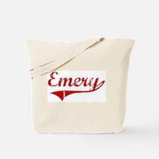 Emery (red vintage) Tote Bag