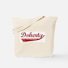 Doherty (red vintage) Tote Bag