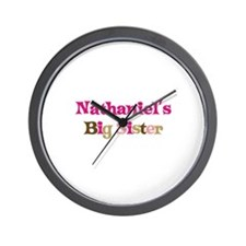 Nathaniel's Big Sister Wall Clock