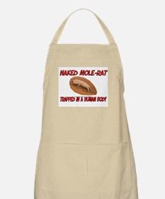 Naked Mole-Rat trapped in a human body BBQ Apron