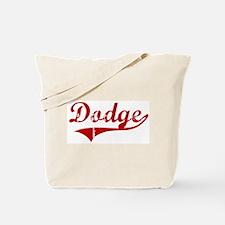 Dodge (red vintage) Tote Bag