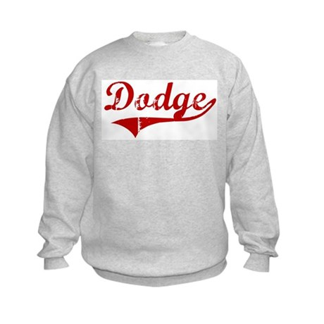Dodge (red vintage) Kids Sweatshirt