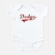 Dodge (red vintage) Infant Bodysuit