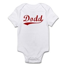 Dodd (red vintage) Infant Bodysuit
