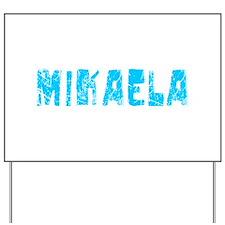 Mikaela Faded (Blue) Yard Sign