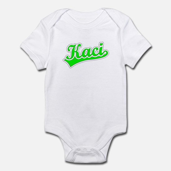 Retro Kaci (Green) Infant Bodysuit