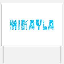 Mikayla Faded (Blue) Yard Sign
